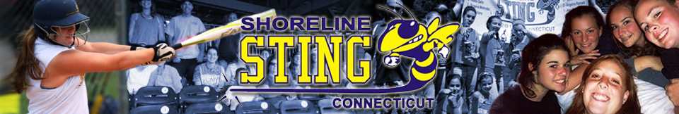 Welcome to Connecticut Shoreline Sting Girls Softball